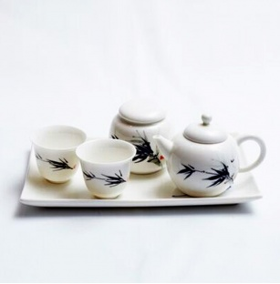 black-bamboo-porcelain-tea-set