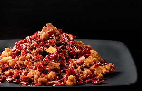 Chong Qing diced chicken with dried chilli